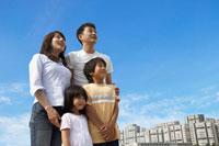 青空と家族
