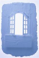 青い窓イメージ