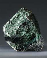 Close up of an Atacamite rock