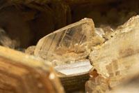 Close up of an Euclase rock