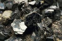 Close up of a Wurtzite rock 22907003774| 写真素材・ストックフォト・画像・イラスト素材|アマナイメージズ