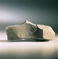 Close up of a Calcareous marl rock