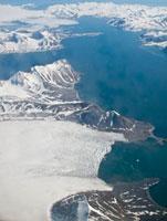 Aerial view of Spitsbergen, Svalbard, Norway,MORE INFO Sval