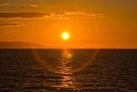Sunrise/sunset in the Gulf of California (Sea of Cortez), Me