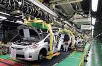 トヨタ自動車 堤工場 プリウス組み立てライン