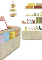 雑貨を扱う書店 22987000171| 写真素材・ストックフォト・画像・イラスト素材|アマナイメージズ