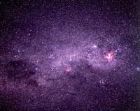 南十字とエータ・カリーナ星雲
