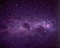 南十字座付近の銀河