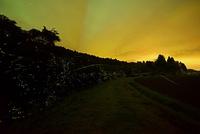 小道沿いの小川に群れ飛ぶゲンジボタル 22995000477| 写真素材・ストックフォト・画像・イラスト素材|アマナイメージズ