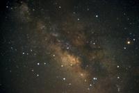 銀河系中心方向の天の川