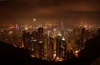 香港の夜景 23001000048| 写真素材・ストックフォト・画像・イラスト素材|アマナイメージズ