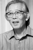 筑波大名誉教授 白川英樹 ノーベル化学賞受賞 23007002329| 写真素材・ストックフォト・画像・イラスト素材|アマナイメージズ