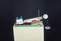 斜面の実験 23018002091| 写真素材・ストックフォト・画像・イラスト素材|アマナイメージズ
