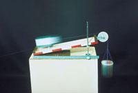 斜面の実験 23018002092| 写真素材・ストックフォト・画像・イラスト素材|アマナイメージズ