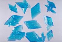 硫酸銅の結晶