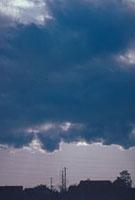 寒冷前線に伴う積雲