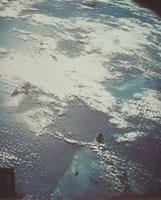 マーキュリーから見た地球の一部