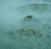 活火山の火口
