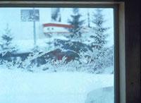 窓の霜 23018002808| 写真素材・ストックフォト・画像・イラスト素材|アマナイメージズ