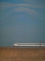 笠雲(富士山)