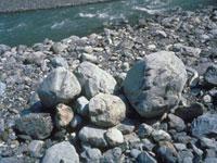 河原の石(大井川上流)