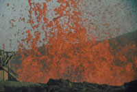 噴火(三原山) 23018003174| 写真素材・ストックフォト・画像・イラスト素材|アマナイメージズ