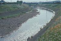 川の減水 23018003321| 写真素材・ストックフォト・画像・イラスト素材|アマナイメージズ
