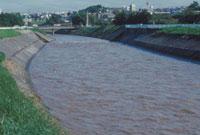 川の増水 23018003323| 写真素材・ストックフォト・画像・イラスト素材|アマナイメージズ