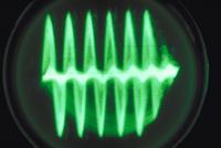 オッシログラフでとらえたクサヒバリの声