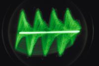 オッシログラフでとらえたツヅレサセコオロギの声