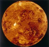 金星全球(北半球)