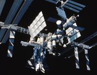 国際宇宙ステーションのCG図