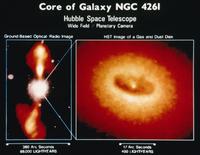 銀河NGC4261の降着円盤