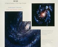 おとめ座銀河団中のM100