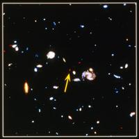 遠方の銀河団
