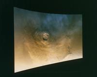 火星のオリンパス山