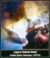 干潟星雲M8 23018049052| 写真素材・ストックフォト・画像・イラスト素材|アマナイメージズ