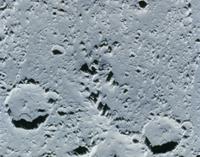 木星の衛星 カリストのクレーター