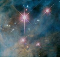 オリオン大星雲と原始惑星系円盤 23018049098| 写真素材・ストックフォト・画像・イラスト素材|アマナイメージズ