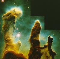 へび座散光星雲内の分子雲 23018049099| 写真素材・ストックフォト・画像・イラスト素材|アマナイメージズ