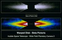 がか座ベータ星のガス円盤 23018049101| 写真素材・ストックフォト・画像・イラスト素材|アマナイメージズ