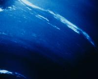 海王星表面の白い雲