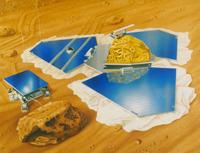 マーズ・パスファインダーと探査機 23018049121| 写真素材・ストックフォト・画像・イラスト素材|アマナイメージズ