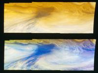 木星のホットスポット周辺の大気