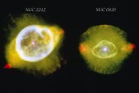 惑星状星雲NGC6826とNGC3242 23018049145| 写真素材・ストックフォト・画像・イラスト素材|アマナイメージズ
