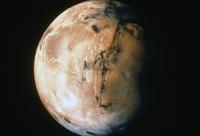 火星(中央マリネリス峡谷)