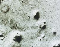 火星表面の人面岩