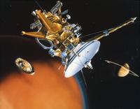 土星探査機カッシーニ 23018049190| 写真素材・ストックフォト・画像・イラスト素材|アマナイメージズ