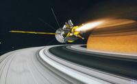 土星探査機カッシーニ 23018049191| 写真素材・ストックフォト・画像・イラスト素材|アマナイメージズ