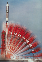 ジェミニ10号の打ち上げ